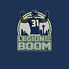"VICTRS ""Legion Of Boom"" Iphone Ipod Case by Victorious"