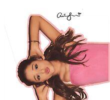 Ariana Grande - Jones Crow Shoot w/ signature by lornadanielle