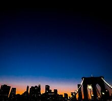 Manhattan Skyline by Patrick T. Power