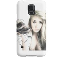 Girl With The Skull Samsung Galaxy Case/Skin