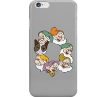 Grumpy & 6 Dwarfs!  iPhone Case/Skin