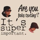 Are You Fake Texting? | Lizzie Bennet Diaries by Michael Audet