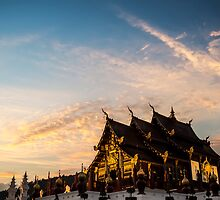 Royal Park Rajapruek on sunset by naphotos