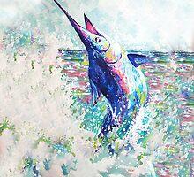 Blue Marlin  by glennlamp