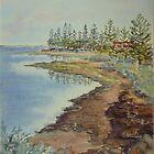 Seaholme shores by Virginia  Coghill