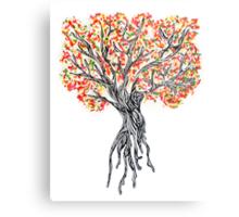 Sprinke Tree Metal Print