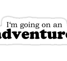 The Hobbit best quotes #1 Sticker