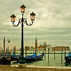 Venice Lagoon in a Moody Sunrise by kirilart