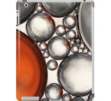 Mercury & Bronze Bubble Abstract iPad Case/Skin