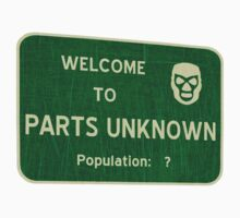 Welcome To Parts Unknown Kids Clothes