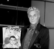 Actor Tony Curtis  by Jonathan  Green