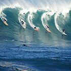 Waimea Bay Watermen by kevin smith  skystudiohawaii