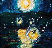 Fireflies Over the Susquehanna by OriginalbyParis