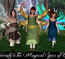 Diversity is the Magical Spice of Life by Wesley Young