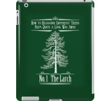 No. 1 The Larch iPad Case/Skin