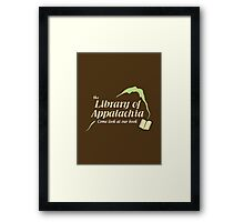 Come Look at Our Book! Framed Print