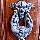 Italian Doorknocker by lynn carter
