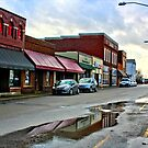 Downtown Bargersville by Kathie Smith