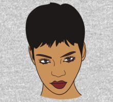 Rihanna by stevebluey