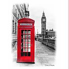 Red Phone Box by Mark  Swindells