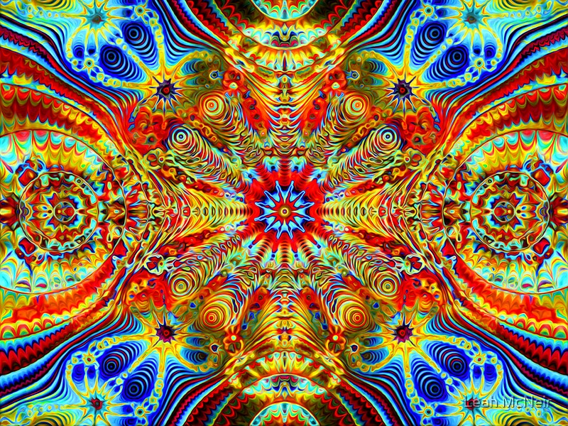 Quot Cosmic Creatrip2 Psychedelic Trippy Visuals Quot By Leah