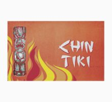 Vintage Detroit Chin Tiki Menu Cover T-Shirt