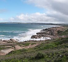 Coastal Walk! Port Elliott, South Coast, Sth. Australia. by Rita Blom