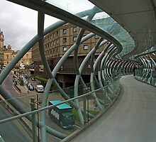 Leith Street Footbridge by Tom Gomez