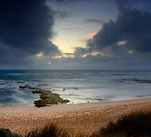 Dramatic Light At Koonya Beach by Alex Fricke