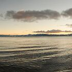 Kings Beach Winter Sunset Panorama by getfarid