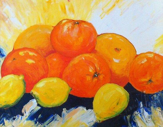 Citrus Splash by OriginalbyParis