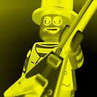 Guitarist Custom LEGO® Minifigure with Guitar, by 'Customize My Minifig' by Chillee
