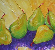 Green Pears by OriginalbyParis