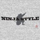 Ninja style!  (black) by yuisato