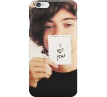 "Harry Styles One Direction ""I Love You"" iPhone Case/Skin"