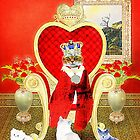 King Leo and his Royal Subjects by Kristie Theobald
