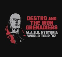 Destro And The Iron Grenadiers World Tour '82 by CrookBu41