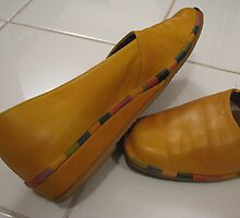 Yellow shoes by kate18a