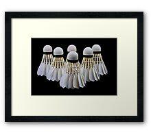 Badminton Framed Print