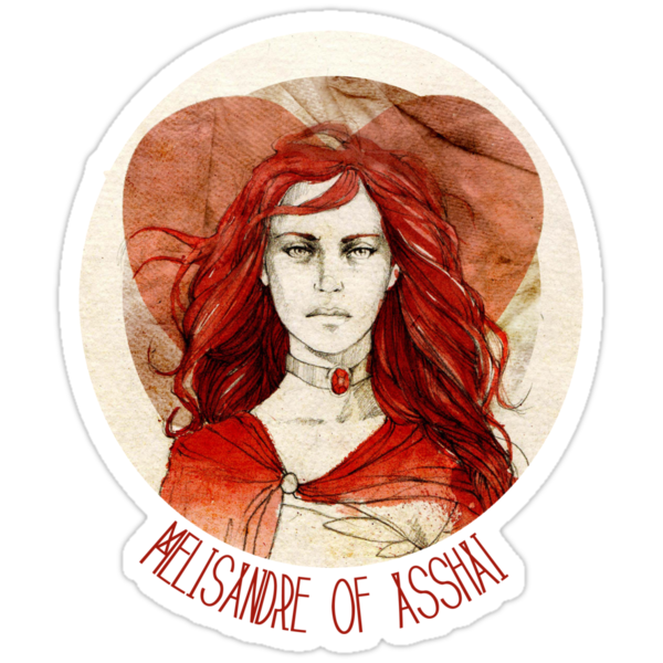 Melisandre of Asshai · t-shirt by elia, illustration