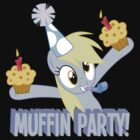 Derpy&#x27;s muffin party! by maxmontezuma