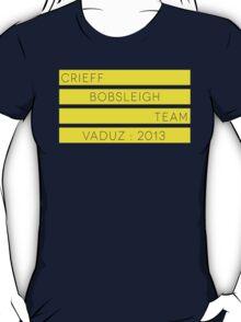 Crieff Bobsleigh Team - Vaduz 2013 T-Shirt