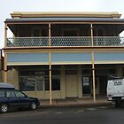 Broken Hill old building Argent St by Heather Dart