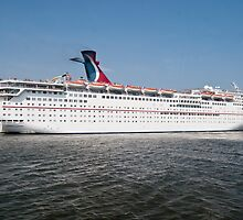 Carnival Fantasy Leaves Charleston South Carolina by barnsis