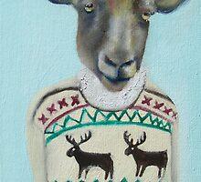 sheep sweater by KingVitaman