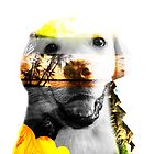 Double Exposure Dog by jordanlee2929