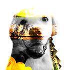 Double Exposure Dog by jordanlee2929