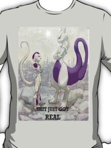 Mewtwo vs Frieza T-Shirt