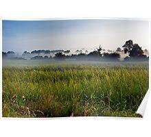 Misty Fields Poster