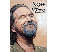 The Dude Now & Zen Photographic Print